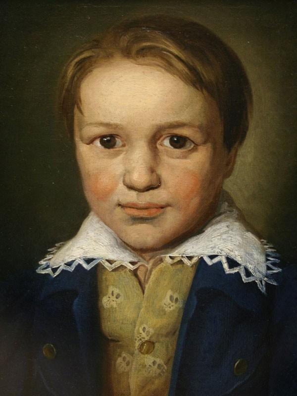 Ludwig van Beethoven con 13 años