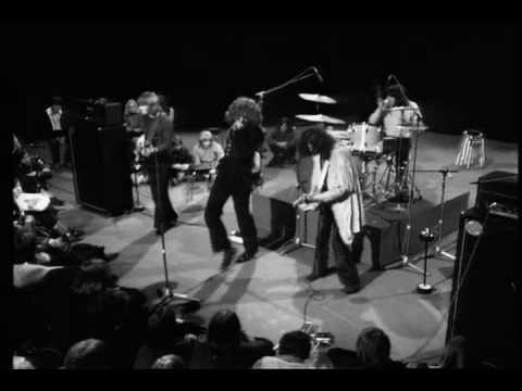 Led Zeppelin, en marzo de 1969, tocando para la televisión danesa