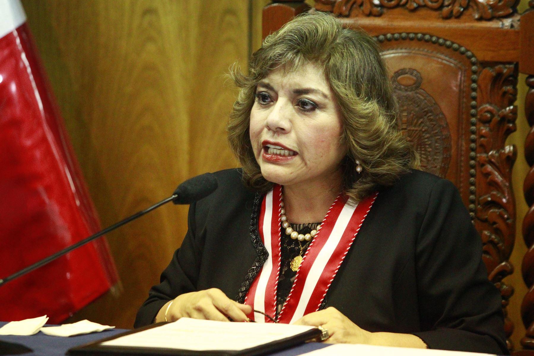 Fiscal de la Nación Zoraida Ávalos Rivera