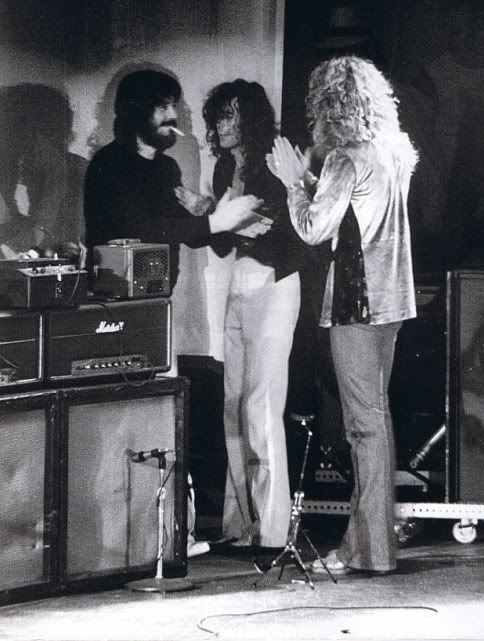 Bonham, Page y Plant
