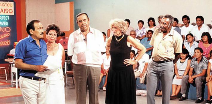 """""""Trampolín a la Fama"""" con Augusto Ferrando y Carbajal."""