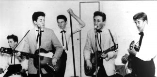 The Quarrymen are perhaps the best-known teenage skiffle band