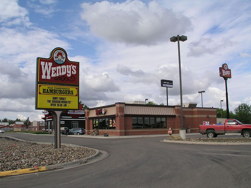 Restaurante de carretera de Wendy's en Miles City (Montana)