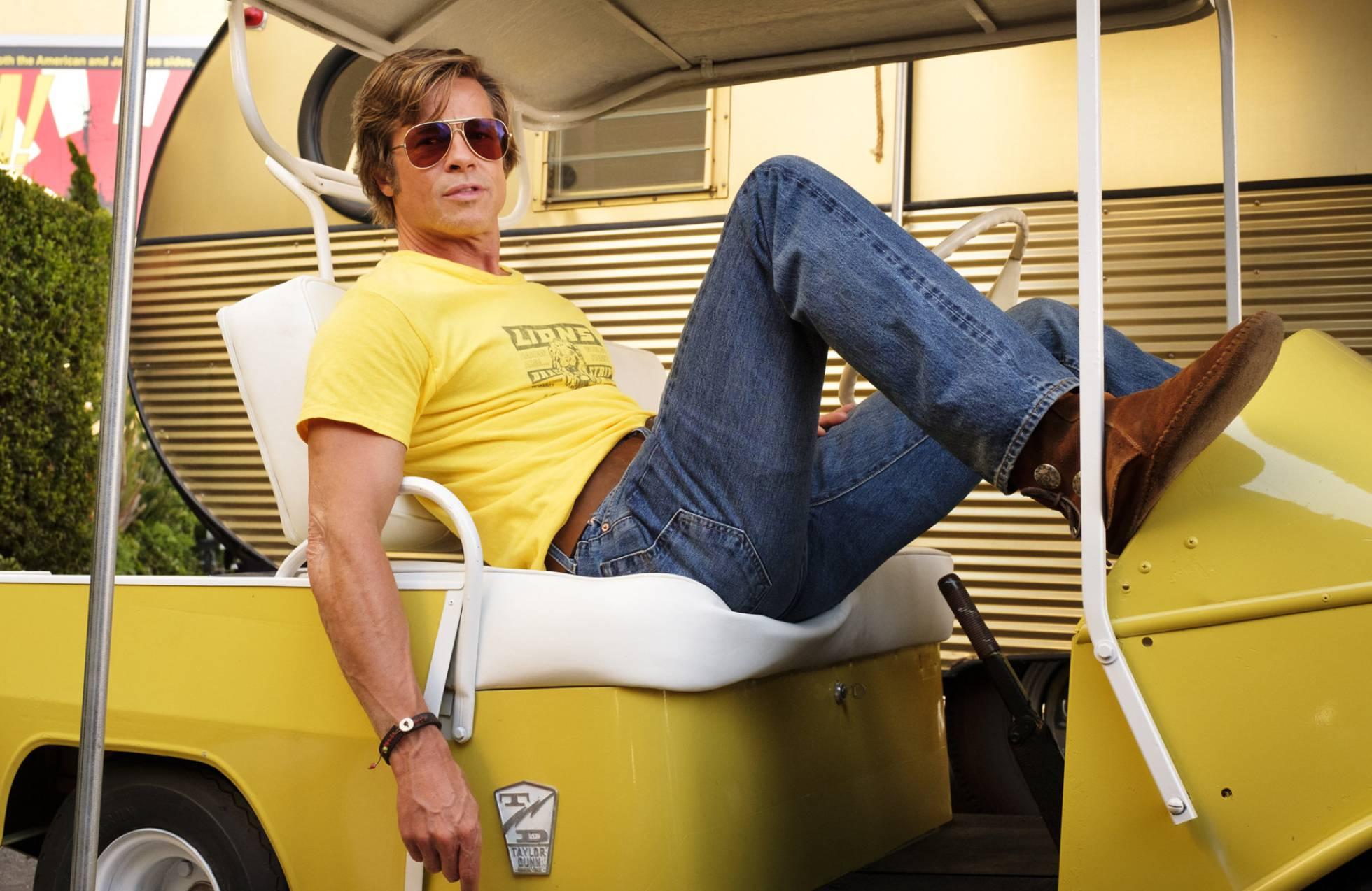 Brad Pitt en la cinta de Quentin Tarantino 'Érase una vez en Hollywood'.Andrew CooperAP
